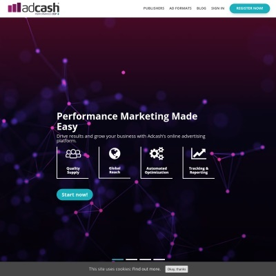 Details : Adcash Performance DSP+ | For Advertisers & Publishers