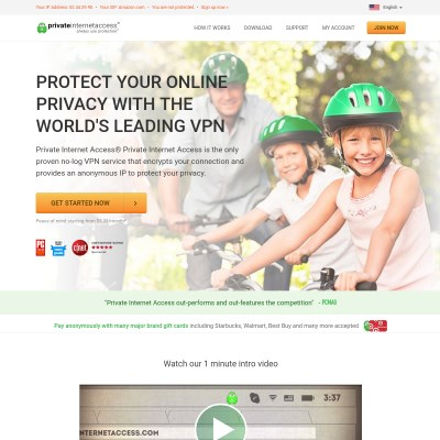 Details : Private Internet Access | Anonymous VPN Service Provider