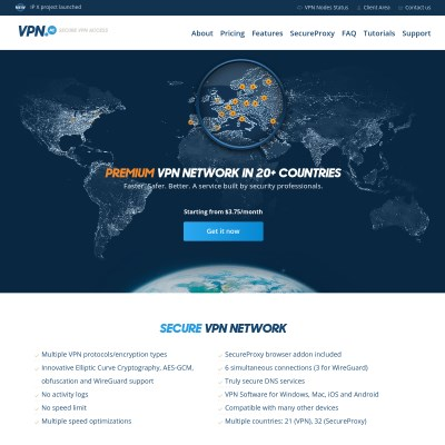 Details : VPN.AC - Secure, Fast, Reliable VPN Service