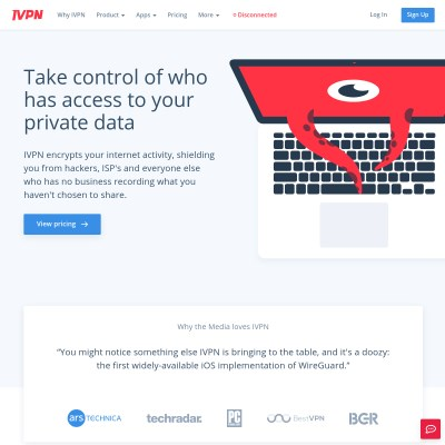 Details : IVPN - VPN Service for Serious Privacy & Security