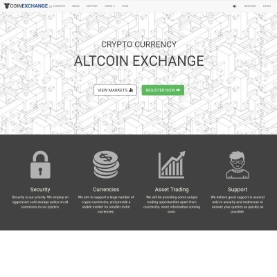 Details : CoinExchange.io - Crypto Currency Altcoin Exchange
