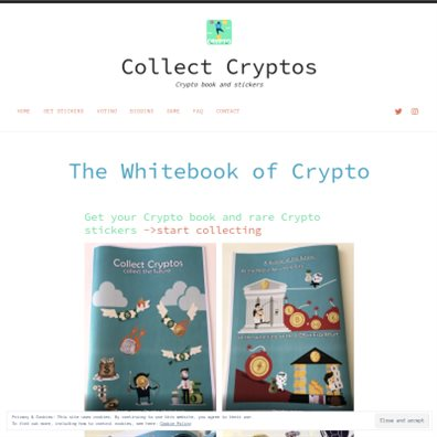 Details : Unique Crypto sticker book/Bitcoin & Co. stickers
