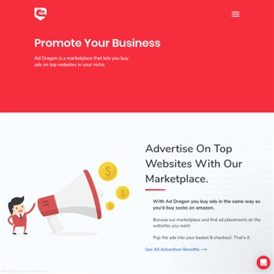 Details : AdDragon - Online Advertising Marketplace