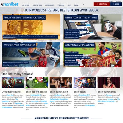 Details : AnoniBet - Bitcoin Sportsbook and Casino Since 2011