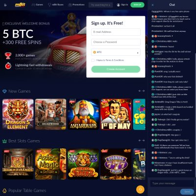 mBit: Bitcoin Casino