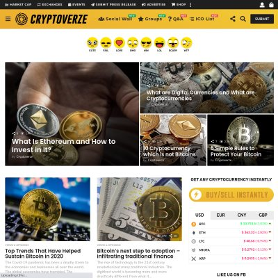 Cryptoverze | The Leading Cryptocurrency Community