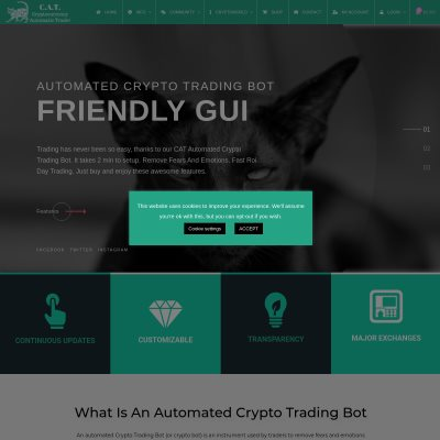 Details : Trade Cryptocurrency with the Best Automated Crypto Trading Bot
